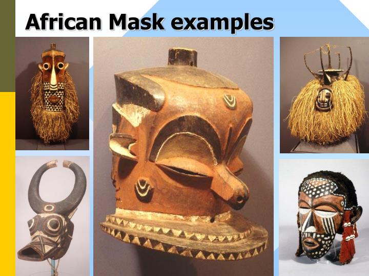 African Mask examples