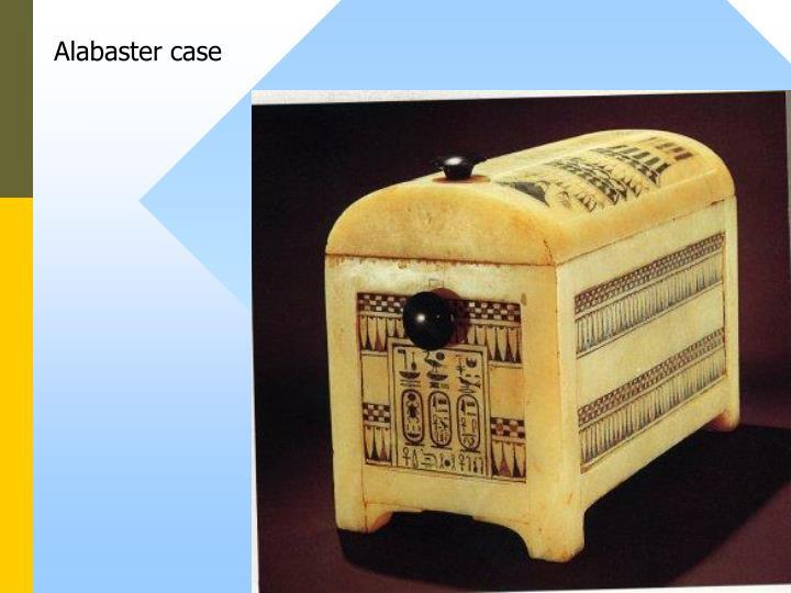 Alabaster case