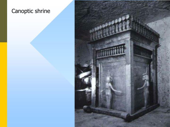 Canoptic shrine