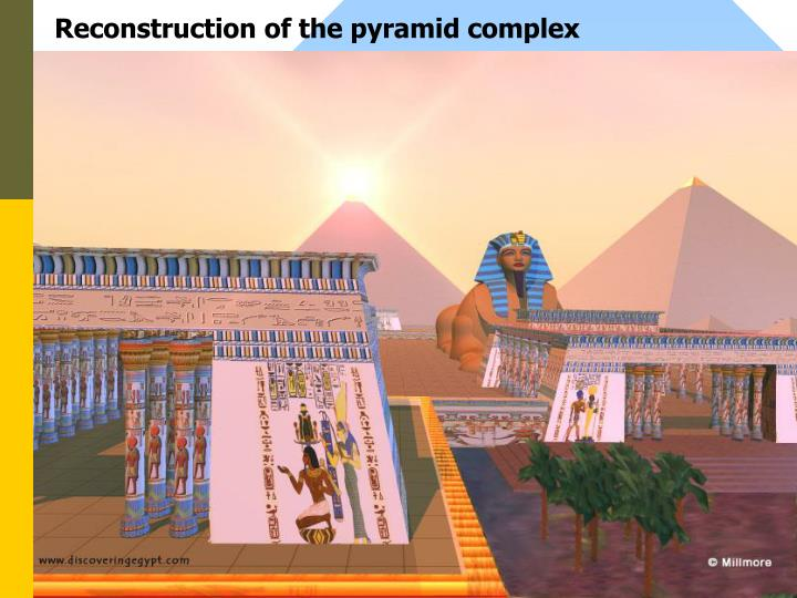Reconstruction of the pyramid complex