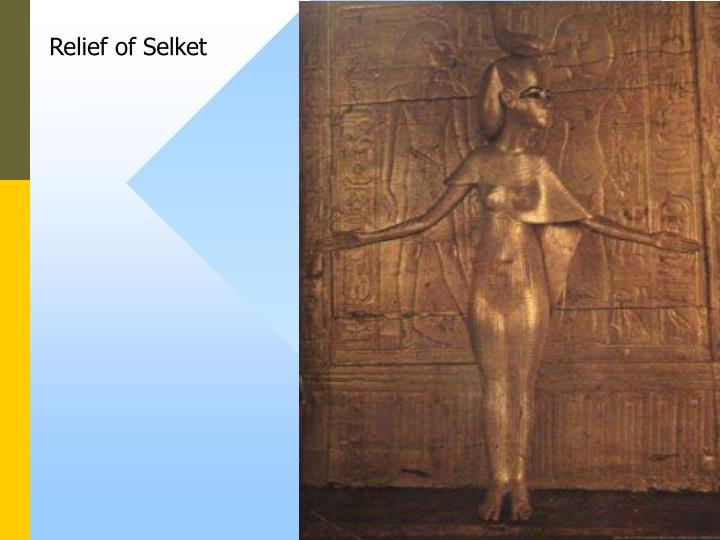 Relief of Selket