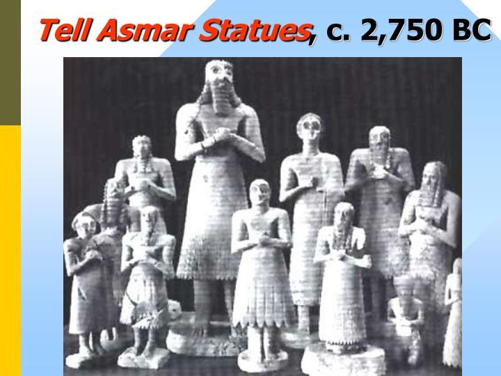 Tell Asmar Statues