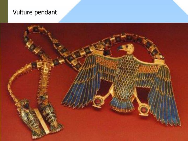 Vulture pendant