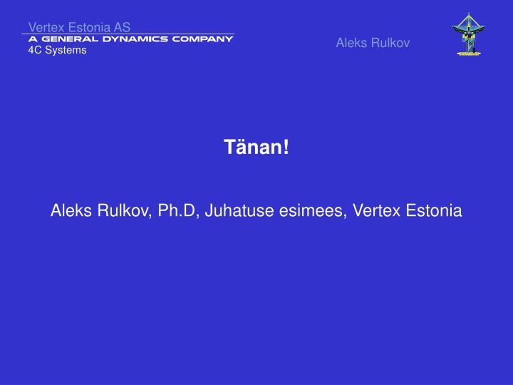 Vertex Estonia AS