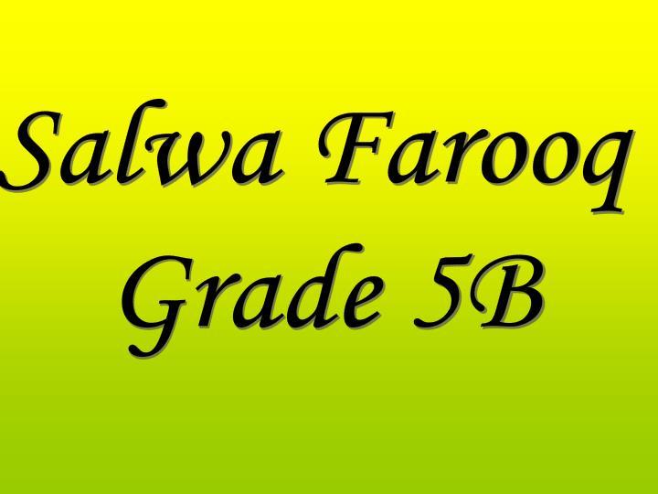 Salwa Farooq