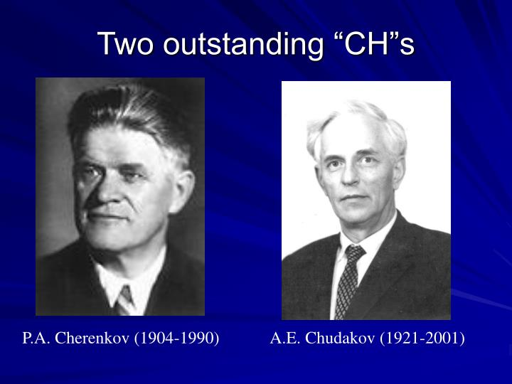 """Two outstanding """"CH""""s"""