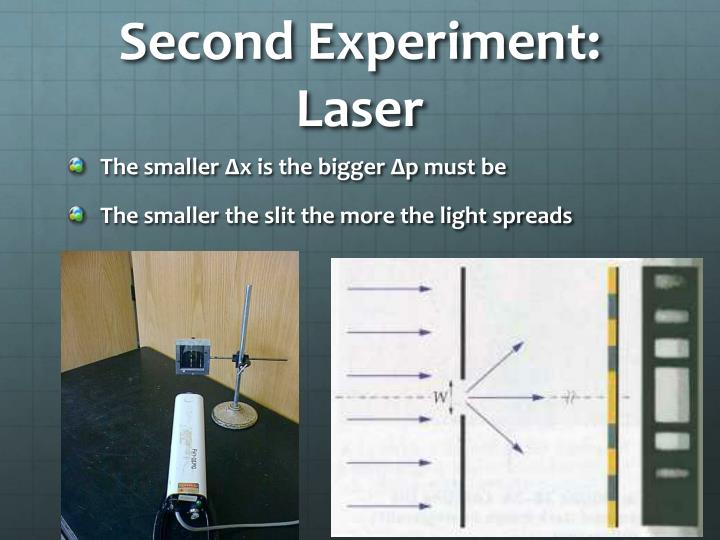 Second Experiment: Laser