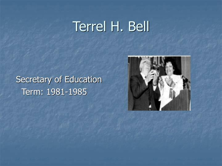 Terrel H. Bell