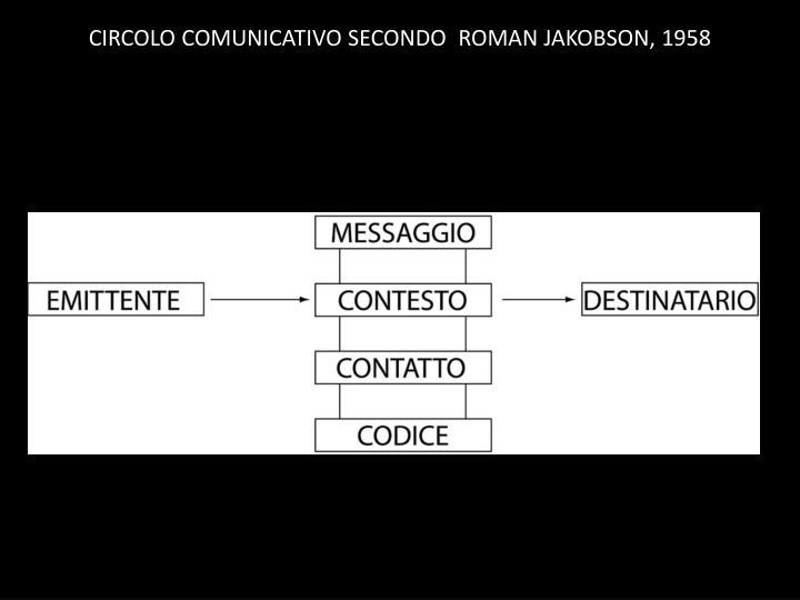 CIRCOLO COMUNICATIVO SECONDO