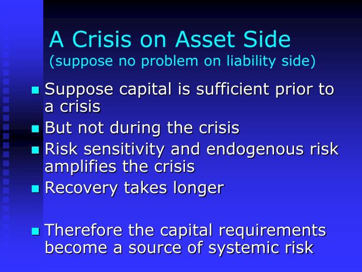 A Crisis on Asset Side