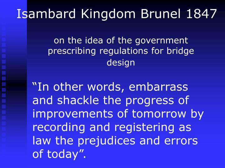 Isambard Kingdom Brunel 1847