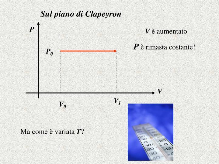 Sul piano di Clapeyron