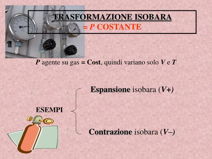 TRASFORMAZIONE ISOBARA
