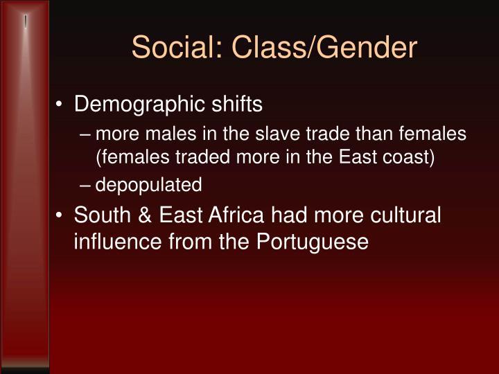 Social: Class/Gender