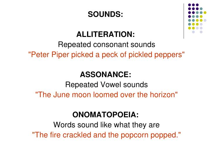 SOUNDS: