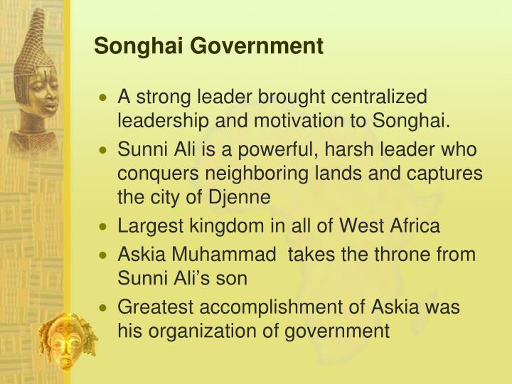 Songhai Government