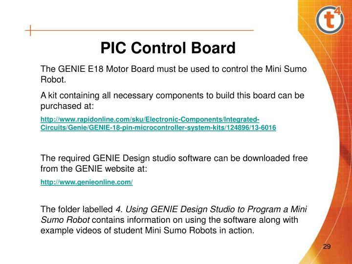 PIC Control Board