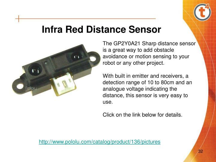 Infra Red Distance Sensor