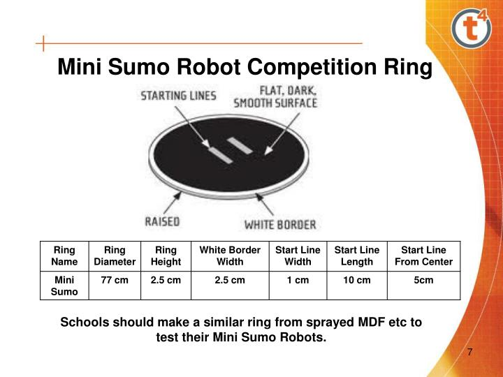 Mini Sumo Robot Competition Ring