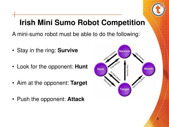 Irish Mini Sumo Robot Competition