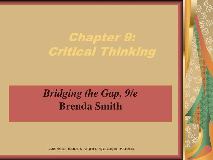 chapter 9 critical thinking n.
