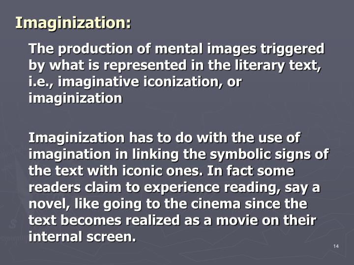 Imaginization: