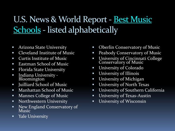 U.S. News & World Report -