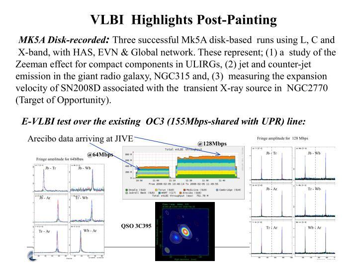 VLBI  Highlights Post-Painting