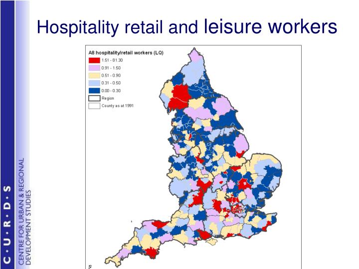 Hospitality retail and