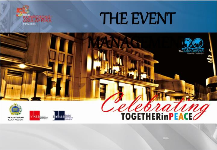 THE EVENT MANAGEMENT