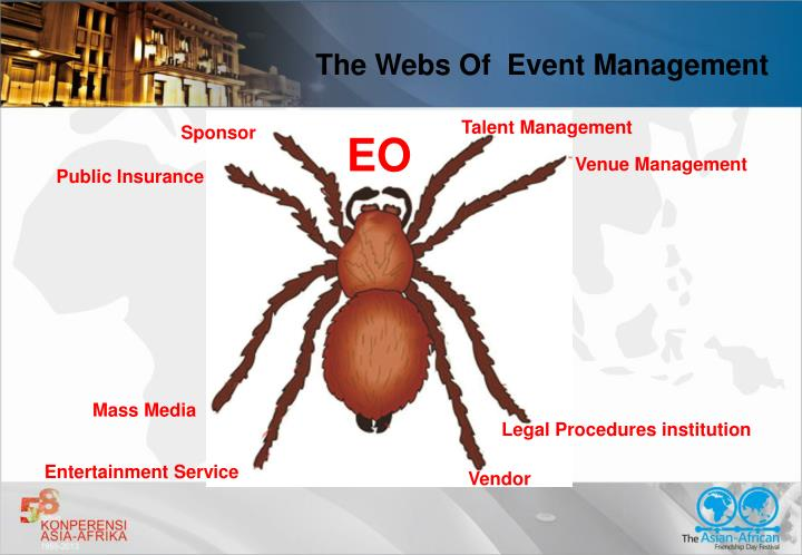 The Webs Of  Event Management