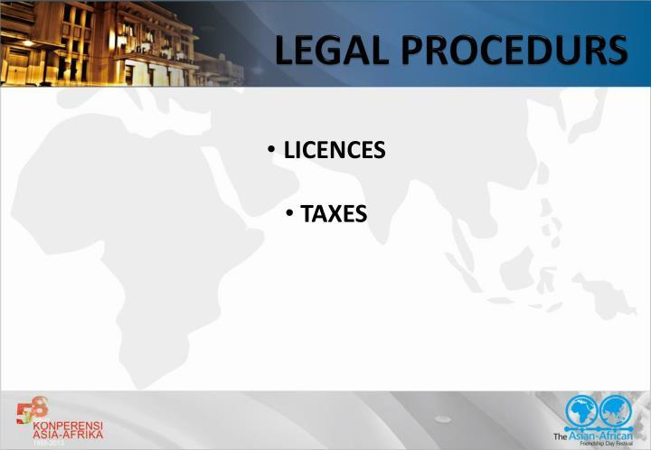 LEGAL PROCEDURS
