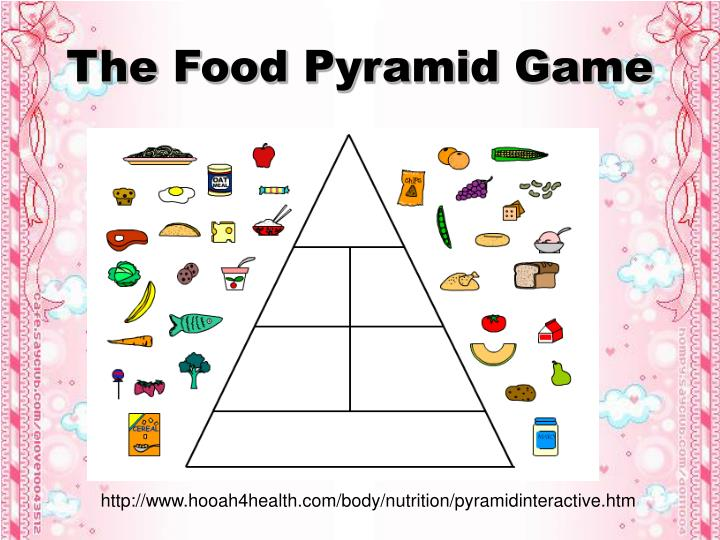 The Food Pyramid Game