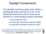 daylight components