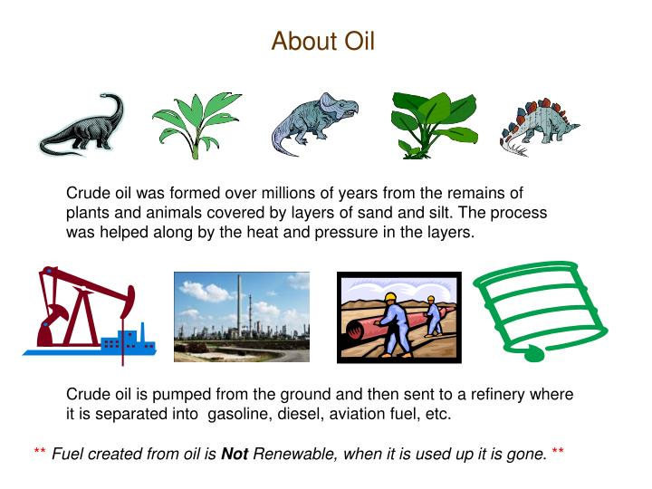 About Oil