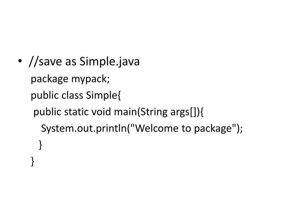 PPT - Java programming PowerPoint Presentation - ID:5356847