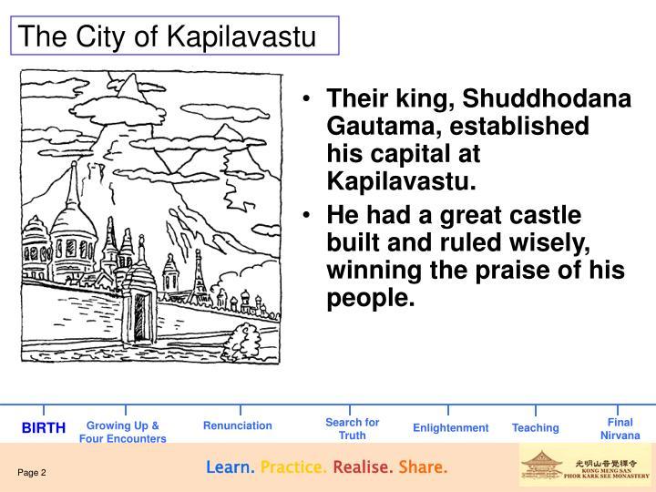 The city of kapilavastu