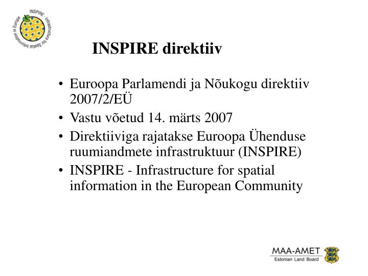 INSPIRE direktiiv