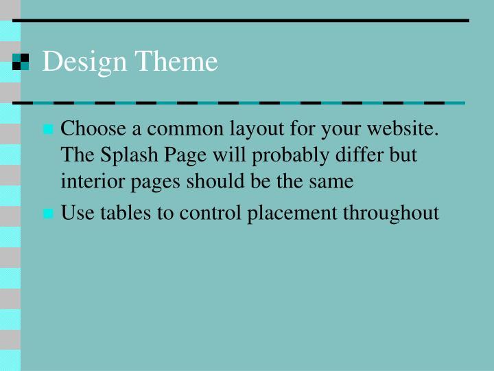 Design Theme