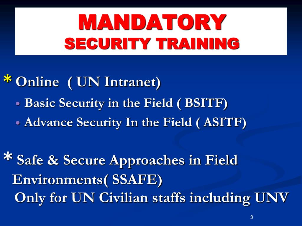 PPT - SAFETY OF UN PEACEKEEPING PERSONNEL PowerPoint Presentation