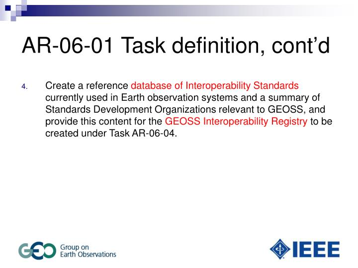 Ar 06 01 task definition cont d