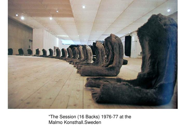 """The Session (16 Backs) 1976-77 at the"