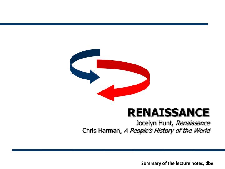 Ppt Renaissance Jocelyn Hunt Renaissance Chris Harman border=