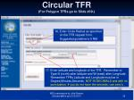 circular tfr for polygon tfrs go to slide 39