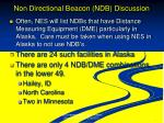 non directional beacon ndb discussion
