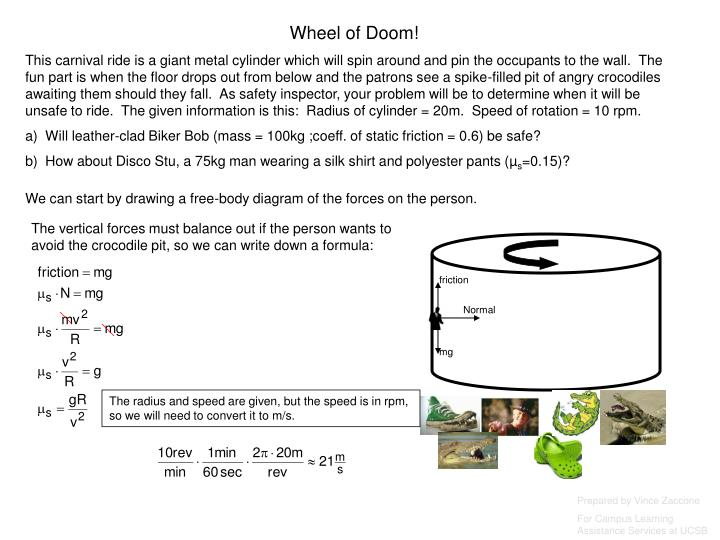 Wheel of Doom!