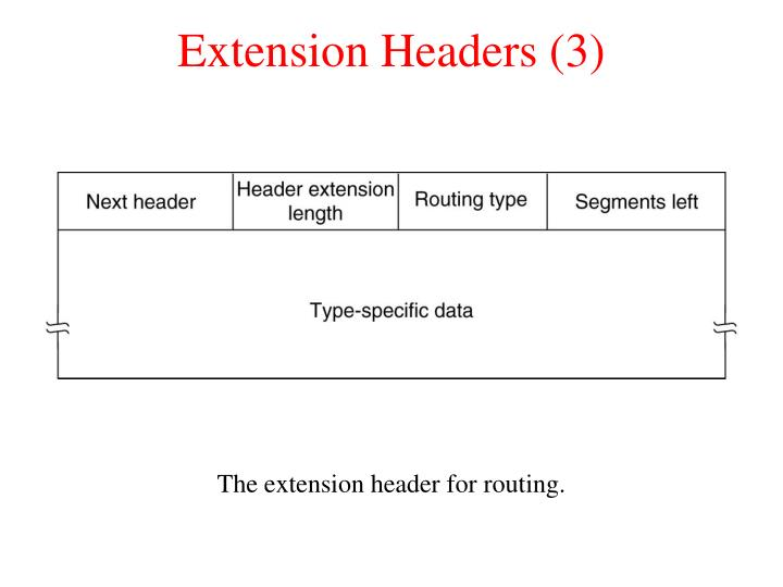 Extension Headers (3)