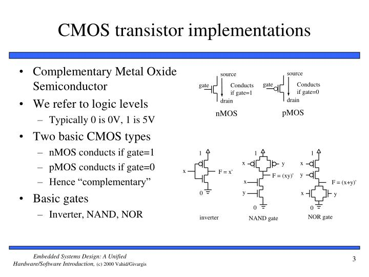Cmos transistor implementations
