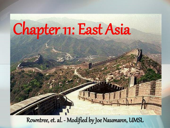chapter 11 east asia n.
