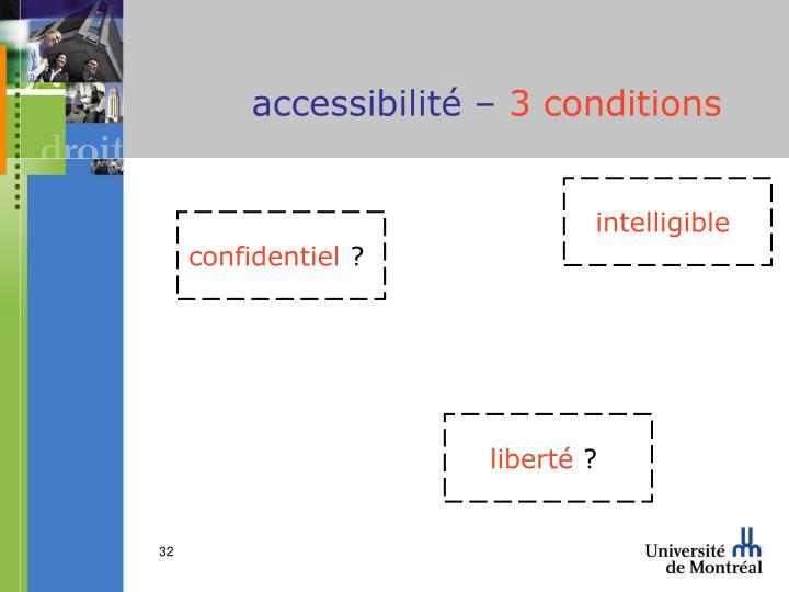 accessibilité –
